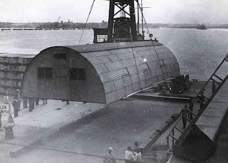 EagleSpeak: Sunday Ship History: Behold the Quonset Huts