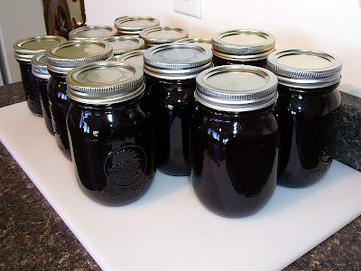 We're going to be eating a lot of grape jelly this year.