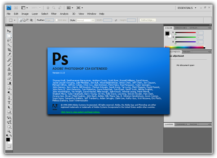 Photoshop cs4 clean keygen download