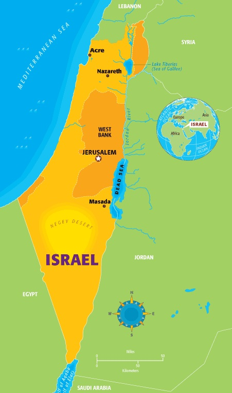 The Wines of Galilee and the Judean Hills in Israel