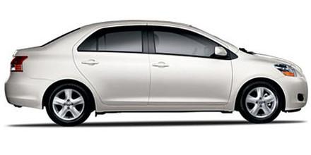 Toyota yaris 2010 specs