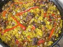 Arroz con Conejo y Caracoles