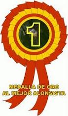 Medalla de oro al mejor alonsista