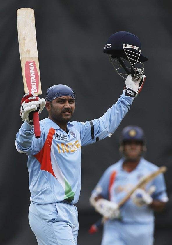 Virender Sehwag : Popular Indian Cricket World Cup 2011 Player