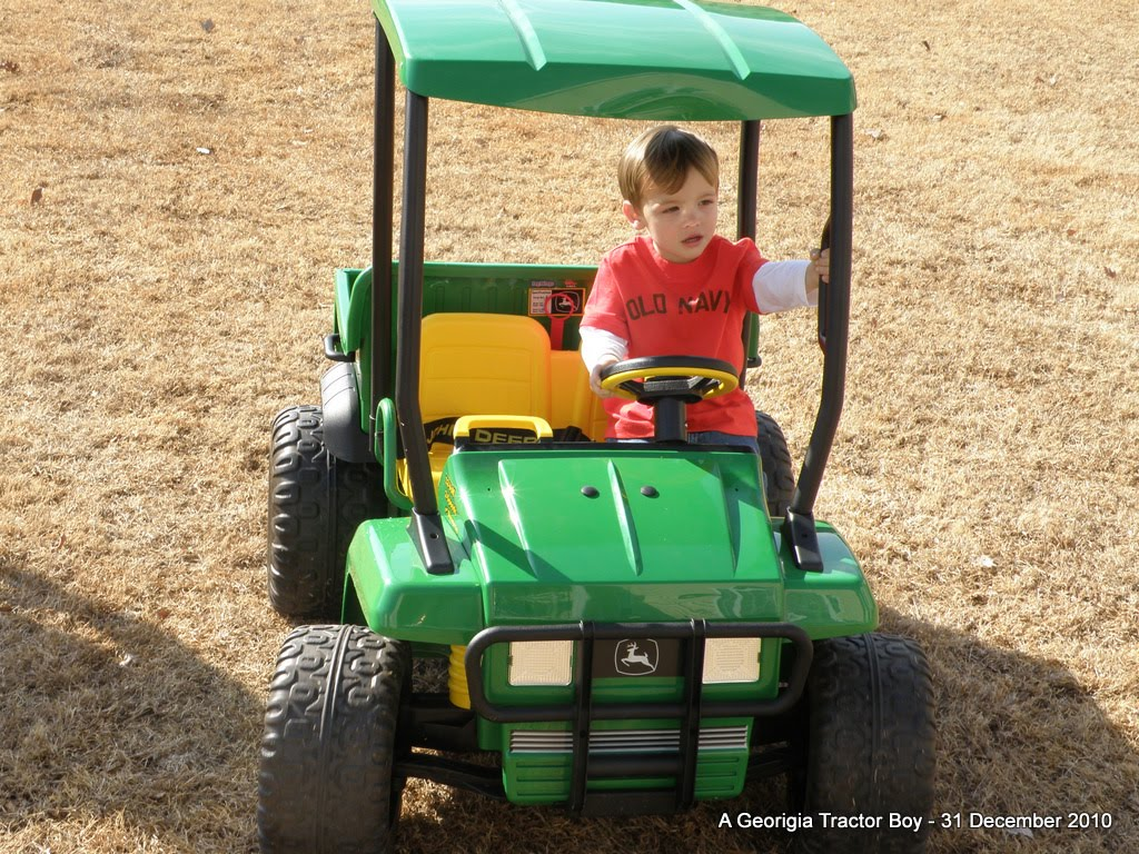 Boy On Tractor : Iowa tractor boys january