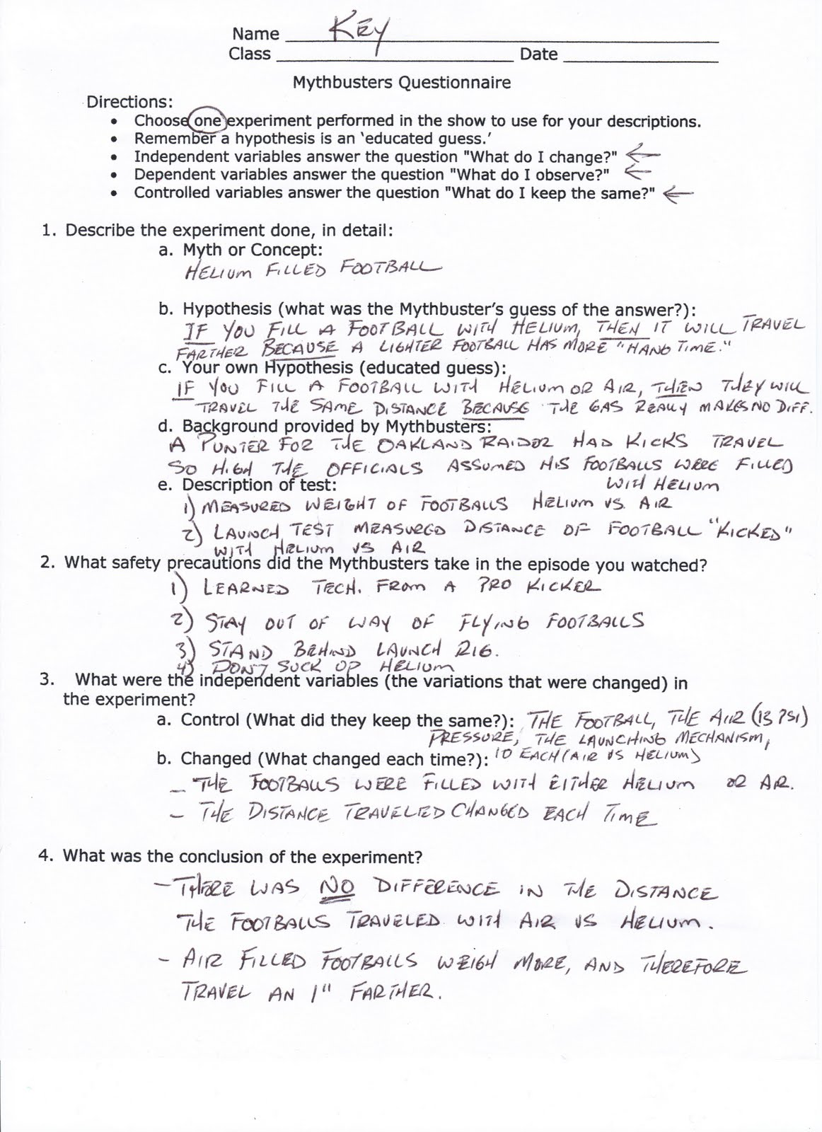 worksheet Physical Science Worksheets High School Luizah – Mythbusters Scientific Method Worksheet