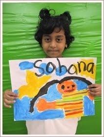 哈娜的肖像画
