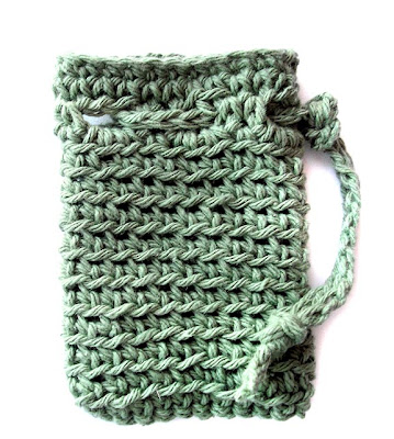 Free Crochet Soap Holder Pattern