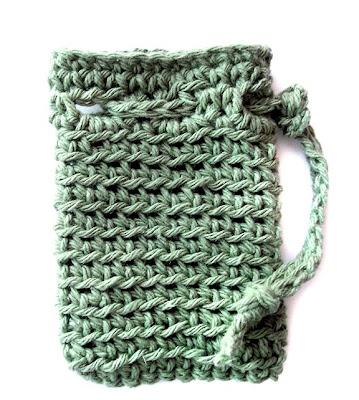 Free Crochet Soap Holder Pattern