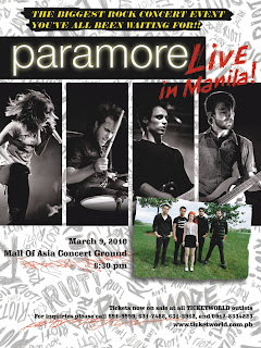 Paramore Tickets at Little Asia