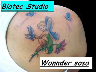 Biotec Studio - Tattoo e Body Piercing: Fada similar a Sininho