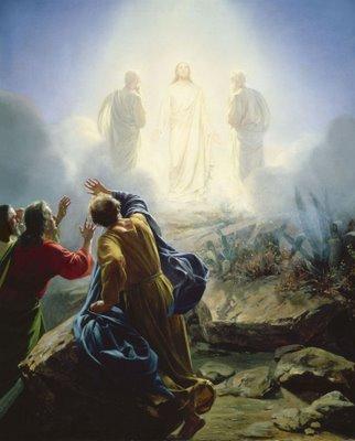 Evangelio 20 de Marzo de 2011 Transfiguration+of+Christ+(Transfiguración+de+Cristo)