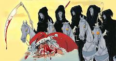 Cavaleiros do Apocalipse matam Papai Noel, Réveillon e Verão de SJB