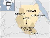 Map of Sudan