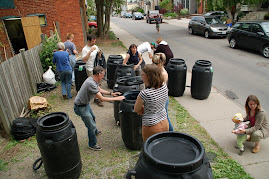 Rain Barrel Workshop June 7 2009 - Hamilton, ON