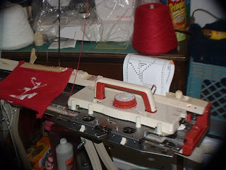 Toyota Knitting Machine