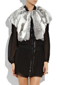 Fall 2010 : Trend : Fur Vest: Rabbit Fur