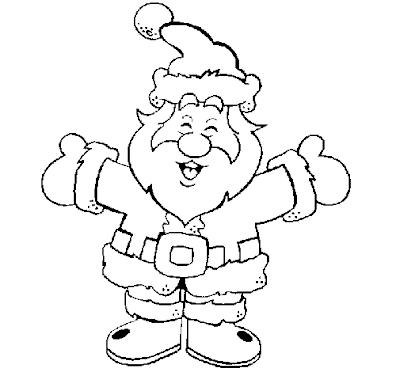 Desenhos de Natal para colorir Desenhos para Colorir - imagens para colorir do pai natal