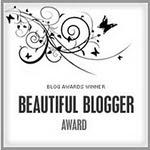 Har fått Beautiful blogger fra :