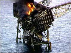 1988  piper alpha oil rig