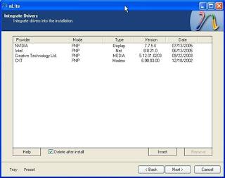 Modify Windows Installation from Nlite Or Vlite