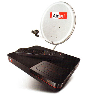 Airtel Digital TV Airtel Digital TV,Tata Sky and Reliance BIG TV DTH reduced Tariff Package