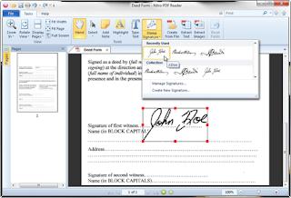 write on pdf using andriod