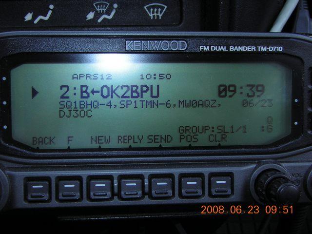 Digi APRS na ISS 23/06/2008