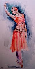 Bailarina Acuarela