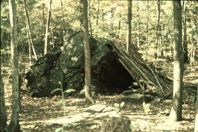 Types Of Lean To Shelter : A woodsrunner s diary native shelters in the two new worlds