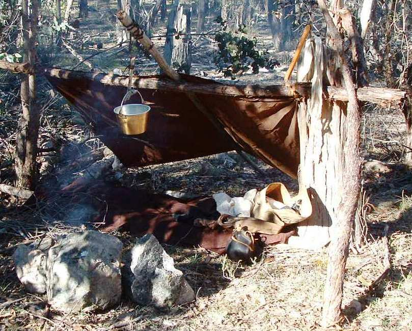 Mountain Man Shelters : A woodsrunner s diary what do i first
