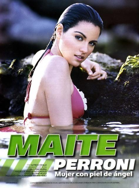 que a belíssima Maite, a Lupida Rebelde, fez para a revista Hombre