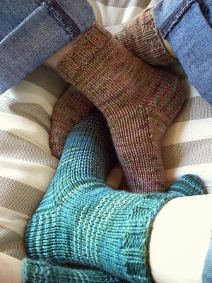 Never Not Knitting April 2008