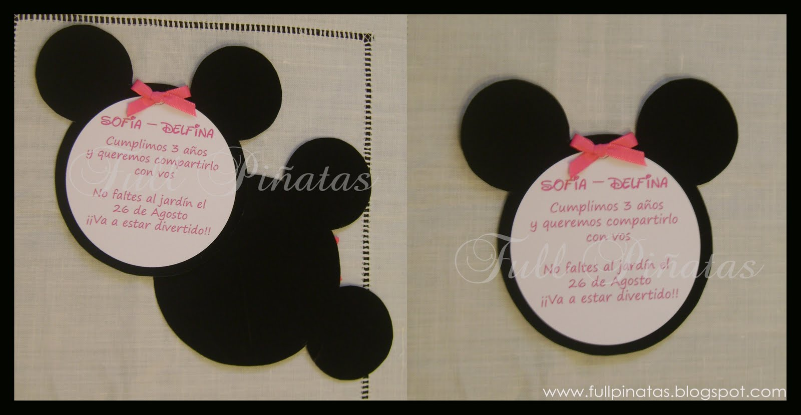 Diseno De Tarjetas De Minnie Bebe Wallpapers | Real Madrid Wallpapers