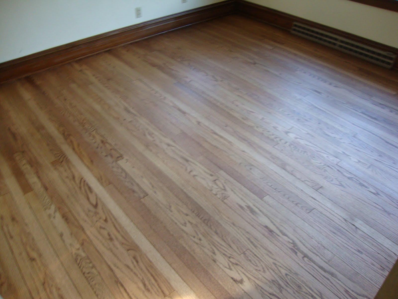 J k homestead june 2010 for Hardwood floors too shiny