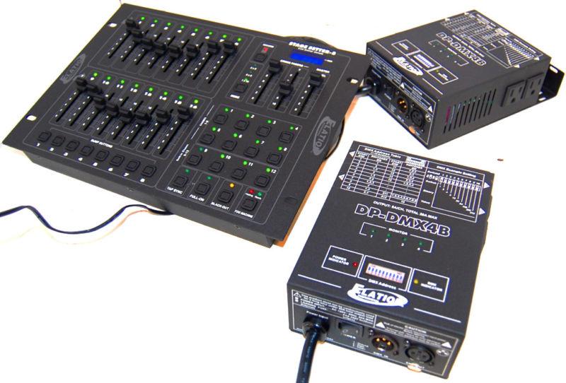 stage setter 8 dmx controller manual