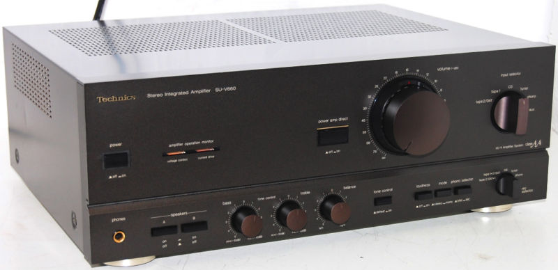 Rewind Audio Technics Su V660 Stereo Integrated Amplifier