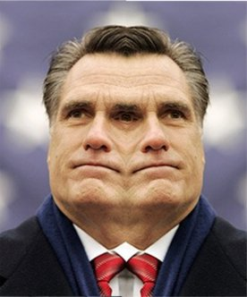 mit romney with two faces