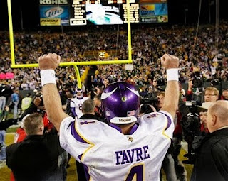 Brett Favre seeks win against Packers
