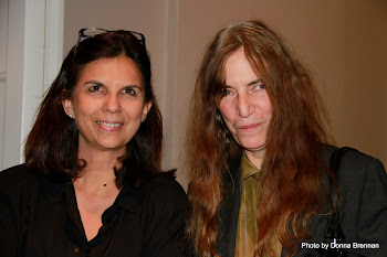Here I am with Patti Smith