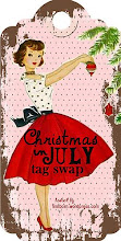 Christmas in July Tag swap