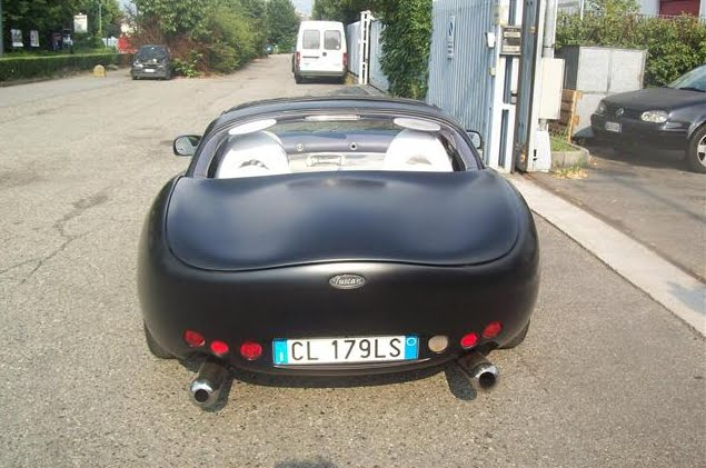 "Maybe this could be an ""ex"" Spectraflair TVR Tuscan MK1 sold in Italy"