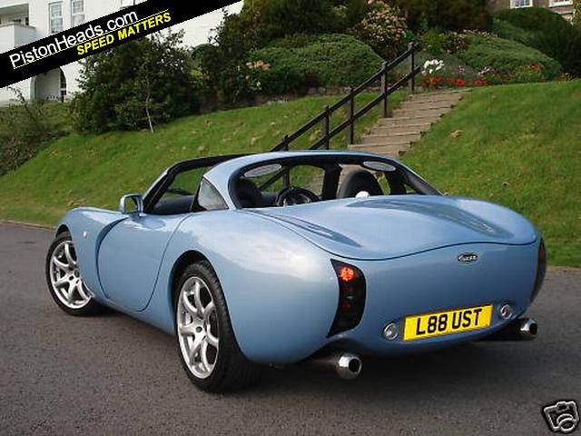 Some TVR enthusiast could love the cockpit of the TVR Tuscan MK1 but he