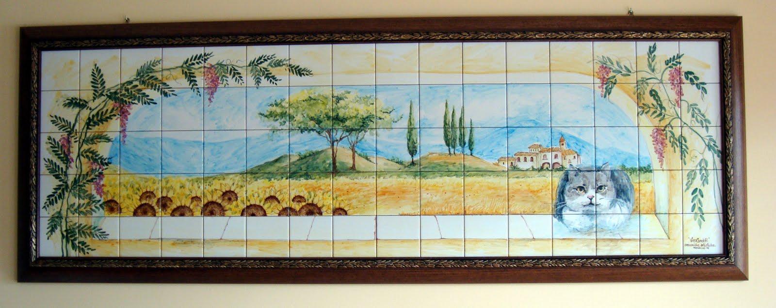 Vico condotti pannelli decorativi in ceramica for Pannelli decorativi per cucina