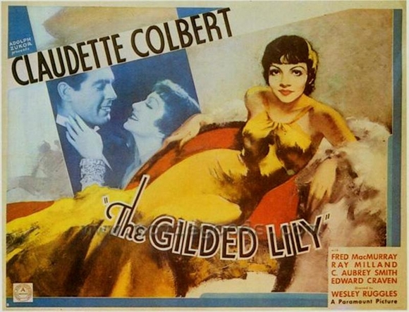 Laura's Miscellaneous Musings: Tonight's Movie: The Gilded Lily (