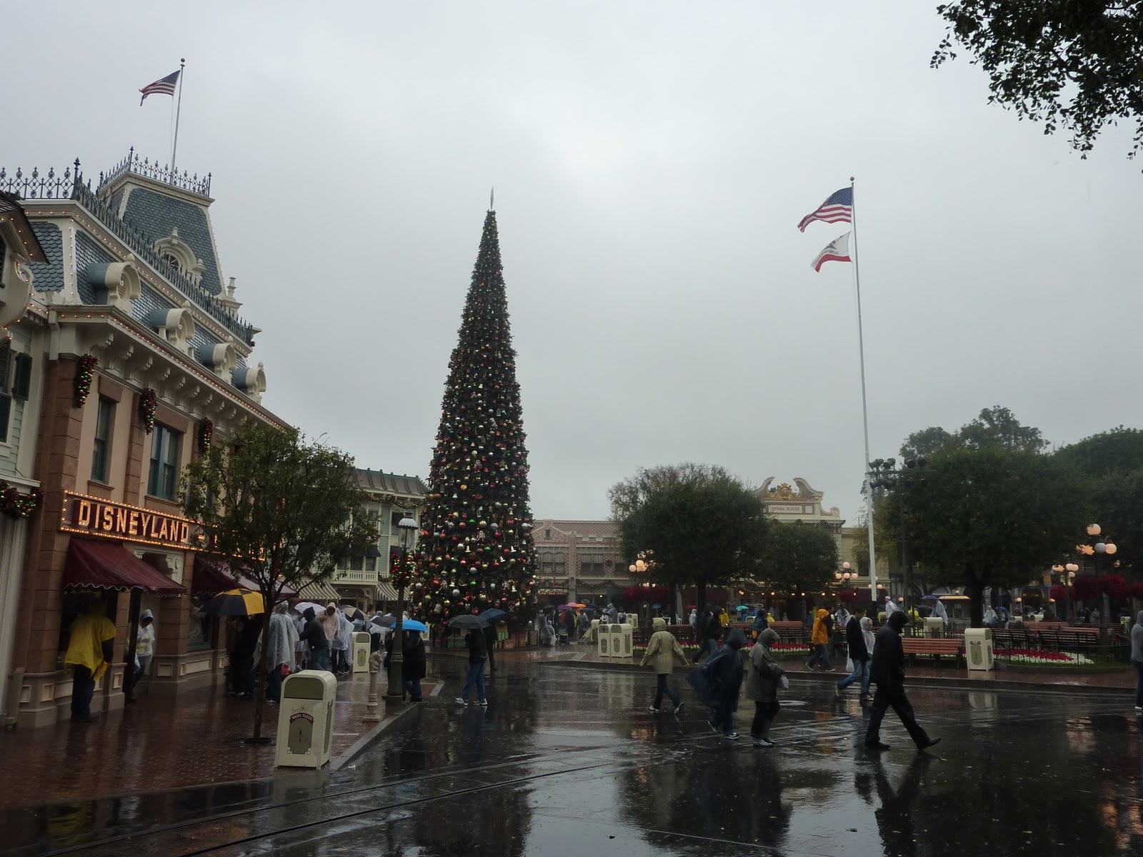 Laura\'s Miscellaneous Musings: Today at Disneyland: It\'s (a Wet ...
