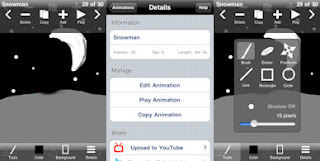 animation creator app for the iPhone and iPod touch