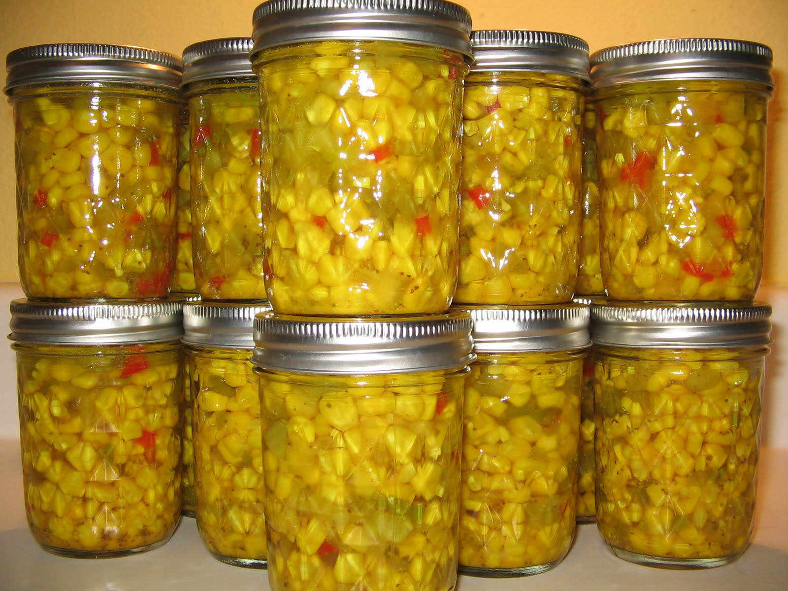 Miz Helen's Country Cottage: Christmas Canning in September