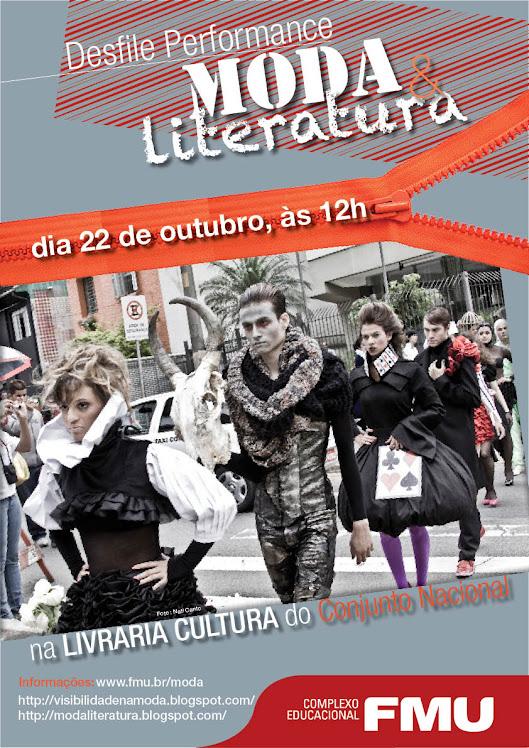 MODA E LITERATURA: DESFILE 2010