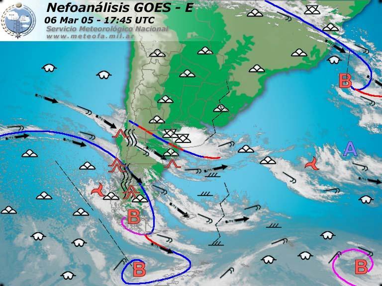 Meteorolog a b sica pron stico del tiempo - Tiempo en paracuellos del jarama ...